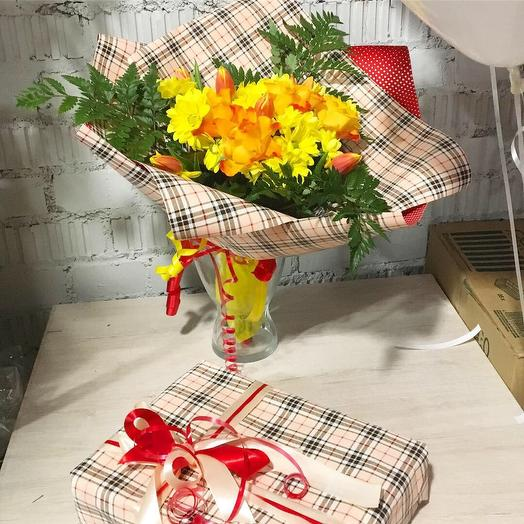 Fashion Fox: букеты цветов на заказ Flowwow