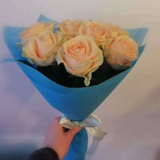 Нежные сливки: букеты цветов на заказ Flowwow