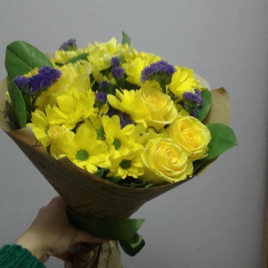 Весеннее солнышко: букеты цветов на заказ Flowwow