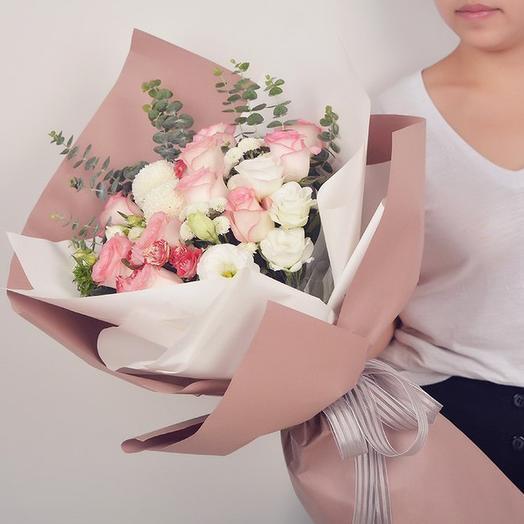 Удивительная нежность: букеты цветов на заказ Flowwow