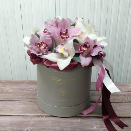 Орхидея для любимой: букеты цветов на заказ Flowwow