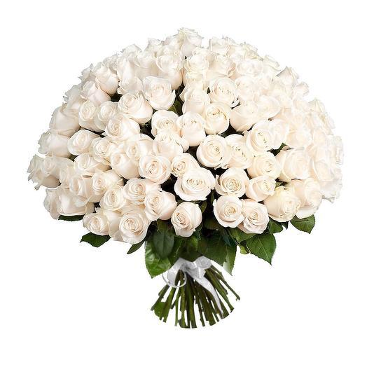 101 комплимент из белой розы: букеты цветов на заказ Flowwow