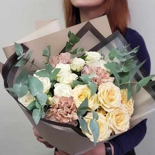 Мягкий космос: букеты цветов на заказ Flowwow