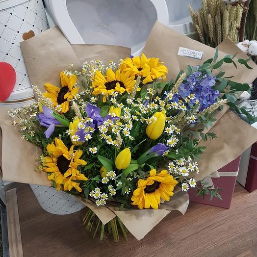 Полевой Париж: букеты цветов на заказ Flowwow