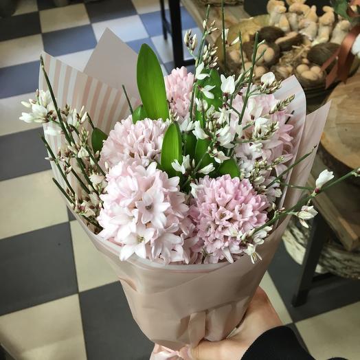 Ароматный цветочный кулёк: букеты цветов на заказ Flowwow