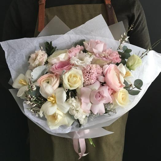 Нежный и ароматный: букеты цветов на заказ Flowwow