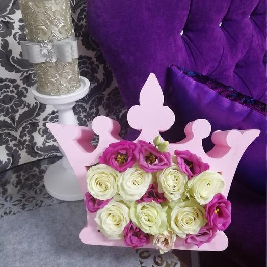 Корона Российской империи: букеты цветов на заказ Flowwow