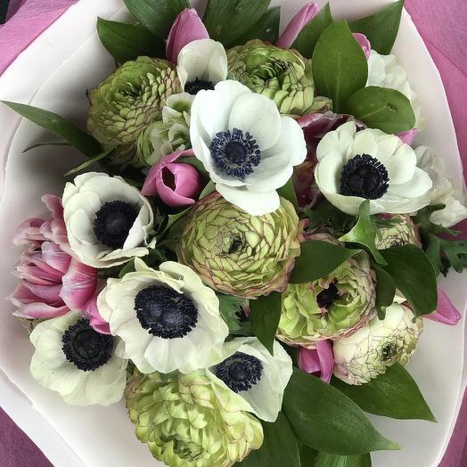 Букет Пронзительный взгляд: букеты цветов на заказ Flowwow