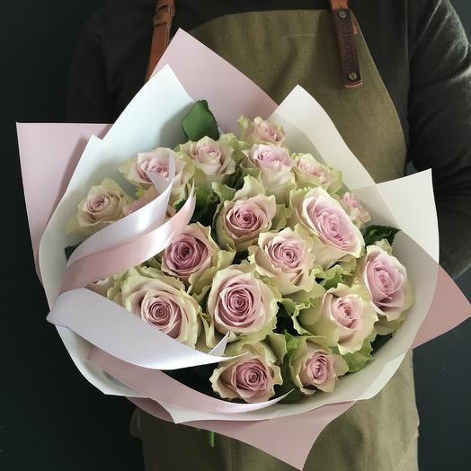 Роза морнин дью: букеты цветов на заказ Flowwow