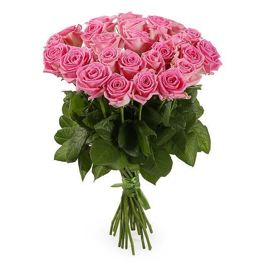 Букет 25 роз Аква: букеты цветов на заказ Flowwow