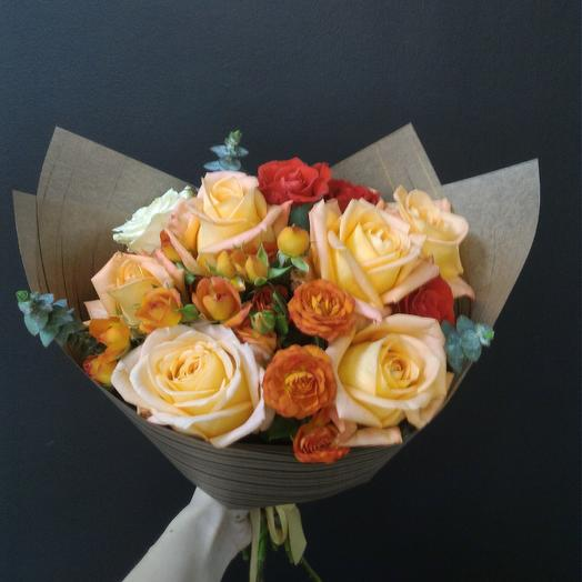Прекрасный вечер: букеты цветов на заказ Flowwow