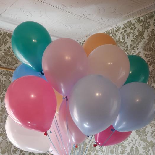 Букет из недных по цвету шаров: букеты цветов на заказ Flowwow