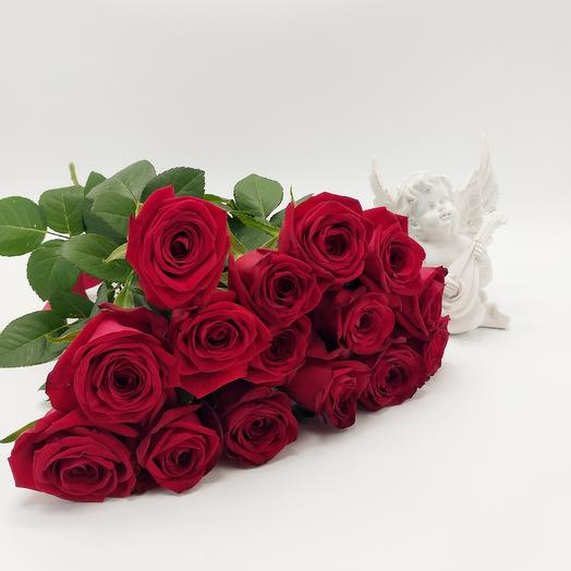 Букет из 15 роз 50 см: букеты цветов на заказ Flowwow