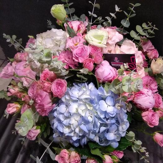 Шляпная коробка   N 2: букеты цветов на заказ Flowwow