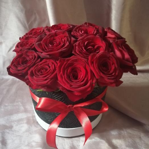 Коробочка роз