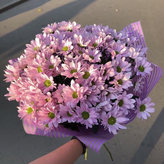 Хризантема💜: букеты цветов на заказ Flowwow