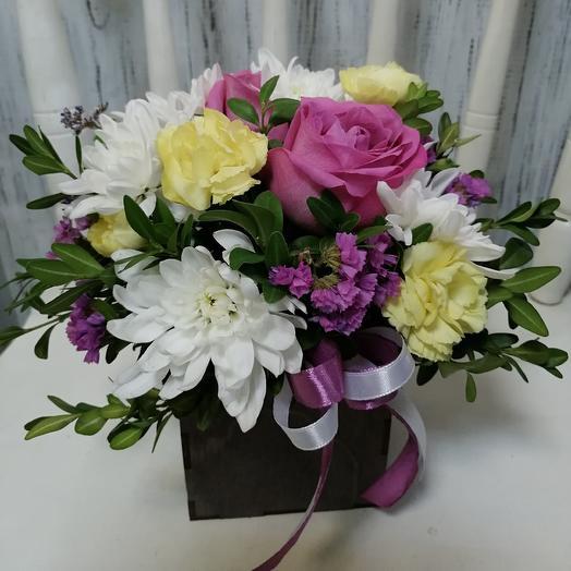 Букет 286: букеты цветов на заказ Flowwow