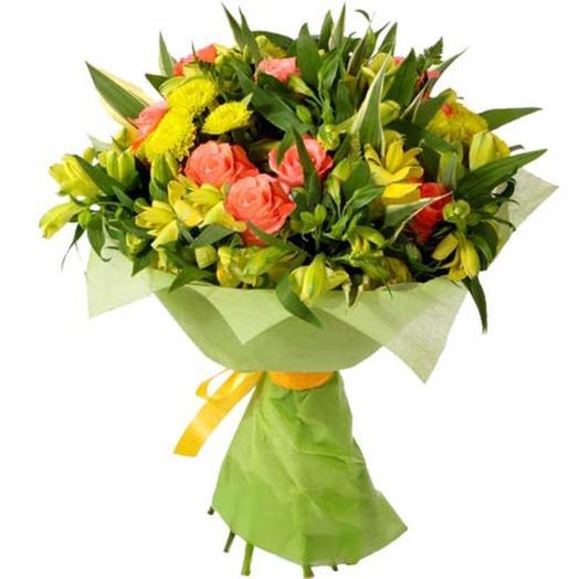 """Букет """"Римские каникулы"""": букеты цветов на заказ Flowwow"""
