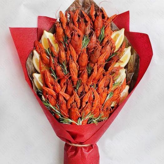 Раки и розмарин: букеты цветов на заказ Flowwow