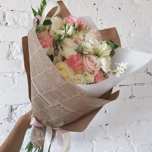 Крафтовый букетик: букеты цветов на заказ Flowwow