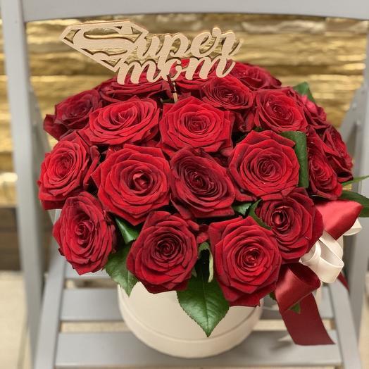 Для супер мамы️: букеты цветов на заказ Flowwow