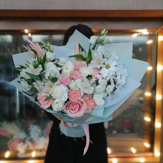 Улыбка радости: букеты цветов на заказ Flowwow