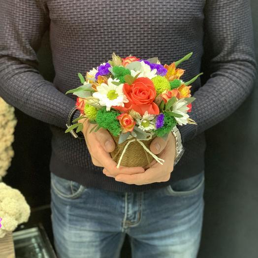 Стаканчик «яркий»: букеты цветов на заказ Flowwow
