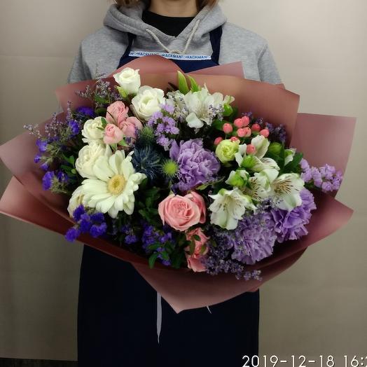 Крёстная Фея: букеты цветов на заказ Flowwow