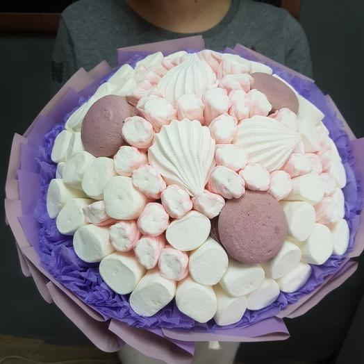 A bouquet of marshmallows and pasta: flowers to order Flowwow