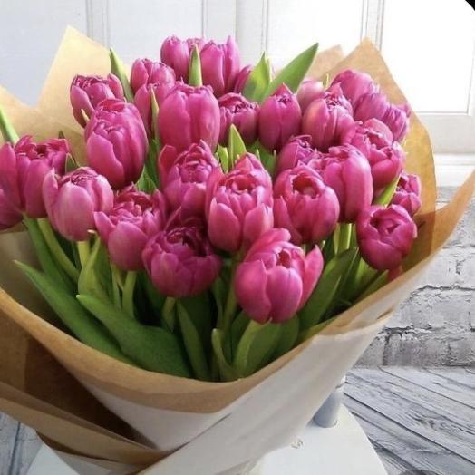 Тюльпаны 35 шт