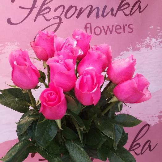 11 роз под ленту