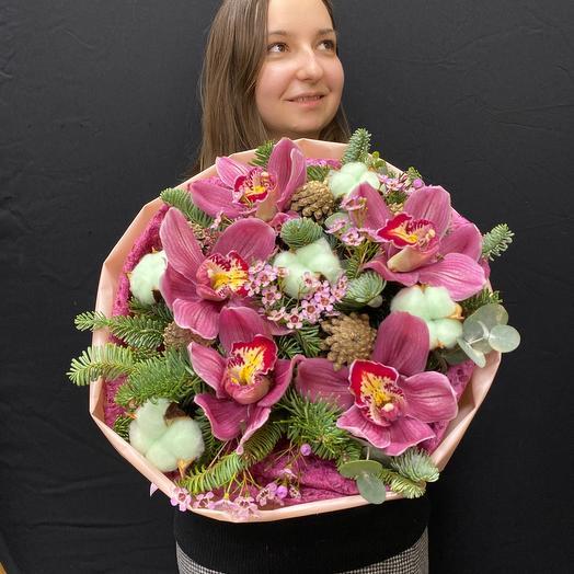 Букет из орхидей «Татьяна»