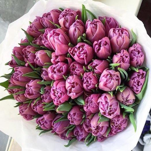 Пионовидные тюльпаны