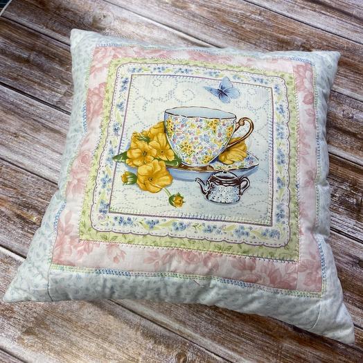 Подушка «фарфоровая пара»