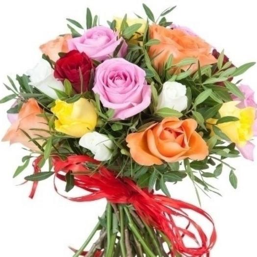Букет из розы Кения микс