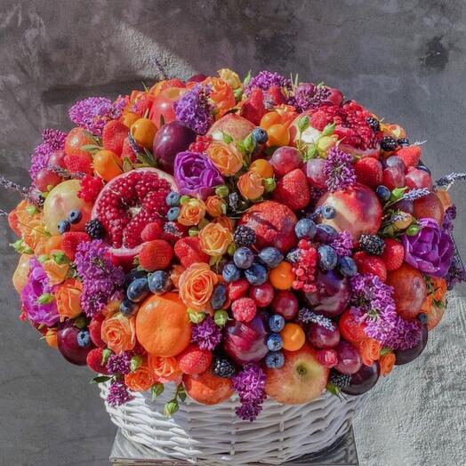 Корзина ягодный люкс