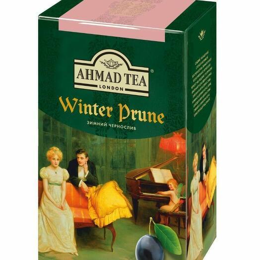 Чай Ахмад черный Зимний чернослив 100 гр