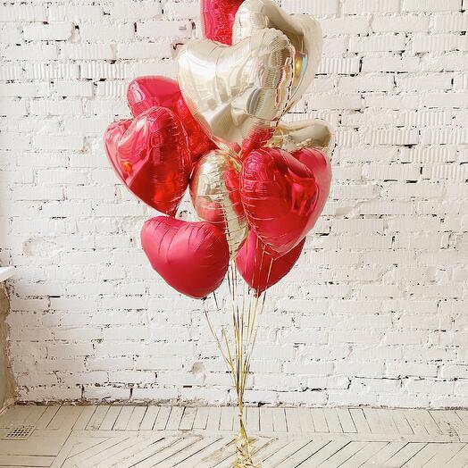 Букет Воздушная валентинка