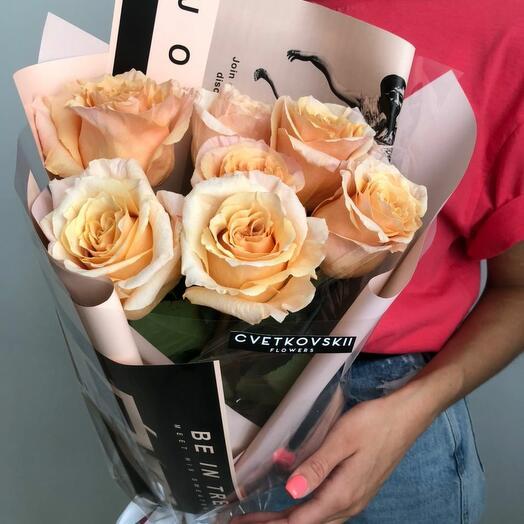 Пионовидные Розы Эквадор