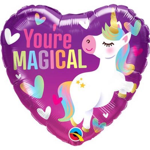 Шарик-сердце «You re magical»