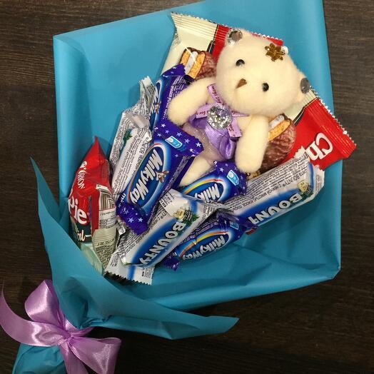 Букет из конфет 001
