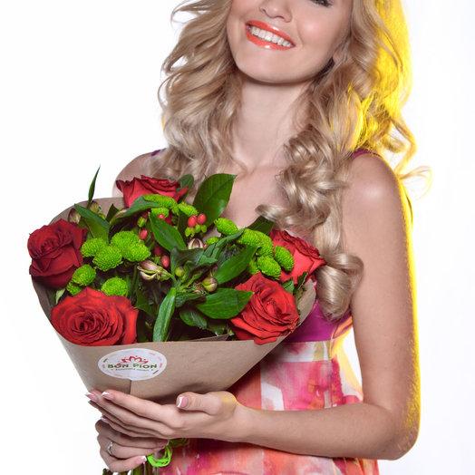 МидиБон 3: букеты цветов на заказ Flowwow