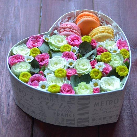 Приятная неожиданность: букеты цветов на заказ Flowwow