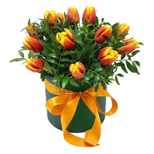 Коробочка с тюльпанами 1