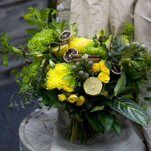 Зеленая мамба: букеты цветов на заказ Flowwow