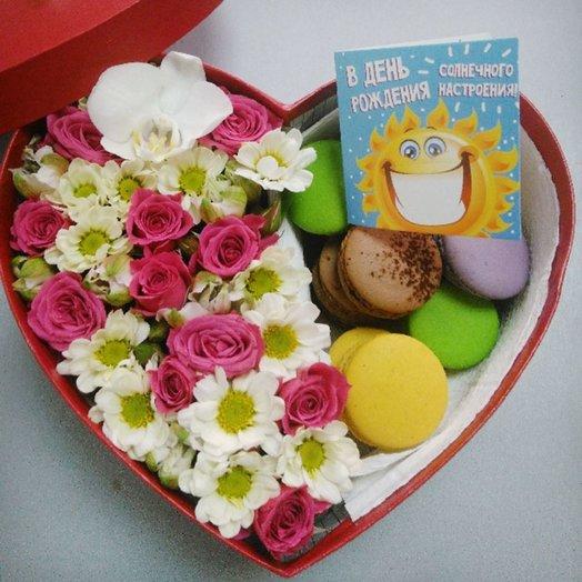 Из Парижа с любовью!: букеты цветов на заказ Flowwow