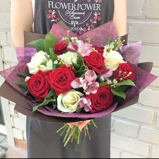Очарование бордо: букеты цветов на заказ Flowwow