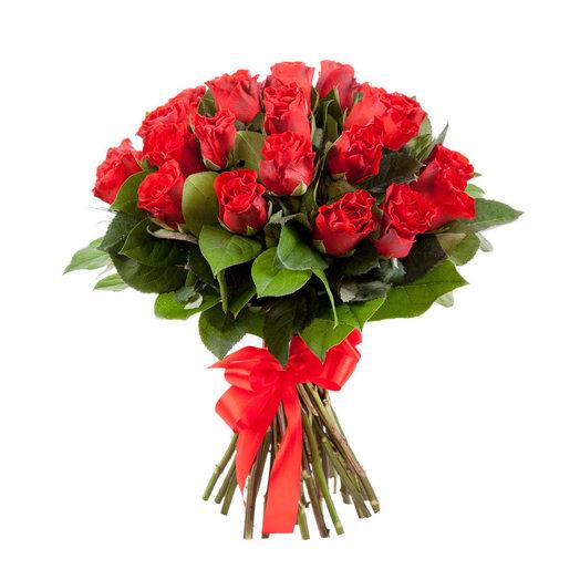 Алые розы Бык: букеты цветов на заказ Flowwow