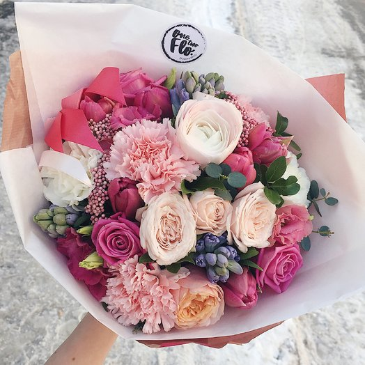 Bouquet 21: букеты цветов на заказ Flowwow