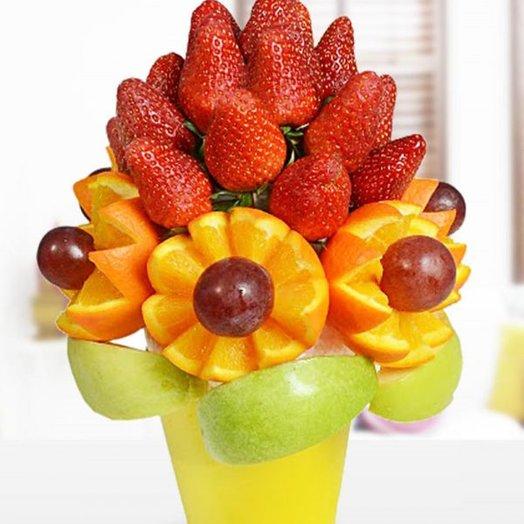 Фруктовый букет ВЕСНА: букеты цветов на заказ Flowwow